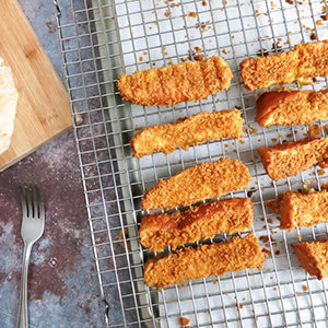 Cornflakes French Toast Sticks
